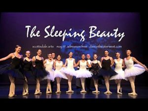 Ballerinas for 'The Sleeping Beauty'
