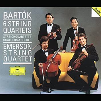 Bartok - Emerson String Quartet - Album Cover