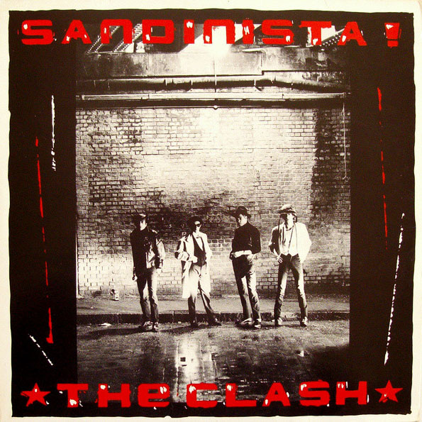 The Clash - Sandinista - Album Cover
