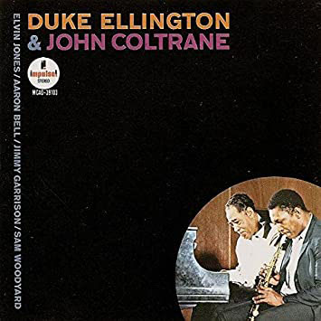 Ellington & Coltrane - Eponymous Album Cover