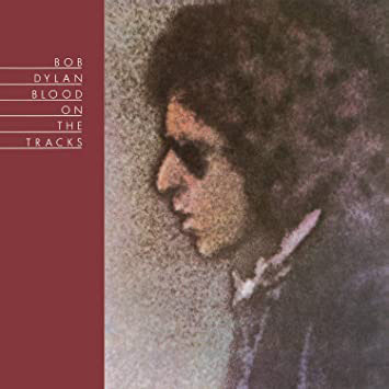 Bob Dylan - Blood On The Tracks - Album Cover