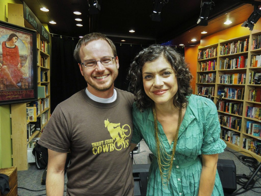 Me with Carrie Rodriguez